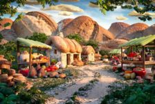 """Feast Your Eyes On Amazing """"Foodscape"""" Architecture for Thanksgiving"""