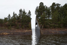 "Norway's ""Memorial Wound"" for Victims of Massacre is Beautiful Land Art"