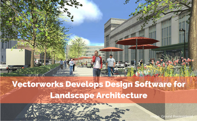 Vectorworks develops design software for landscape for Gis for landscape architects