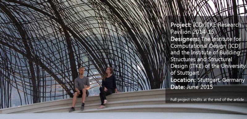 ICD/ITKE Research Pavilion 2014-15