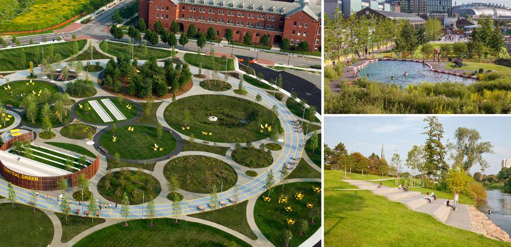 Top 10 landscape architecture projects 2015 for Top garden designers