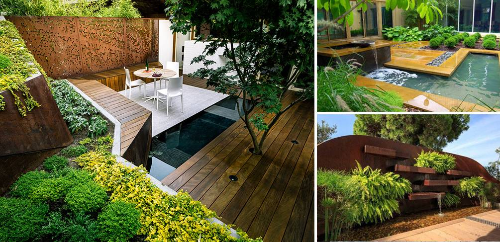 4 awesome projects for small garden design inspiration for Patio designs for small gardens