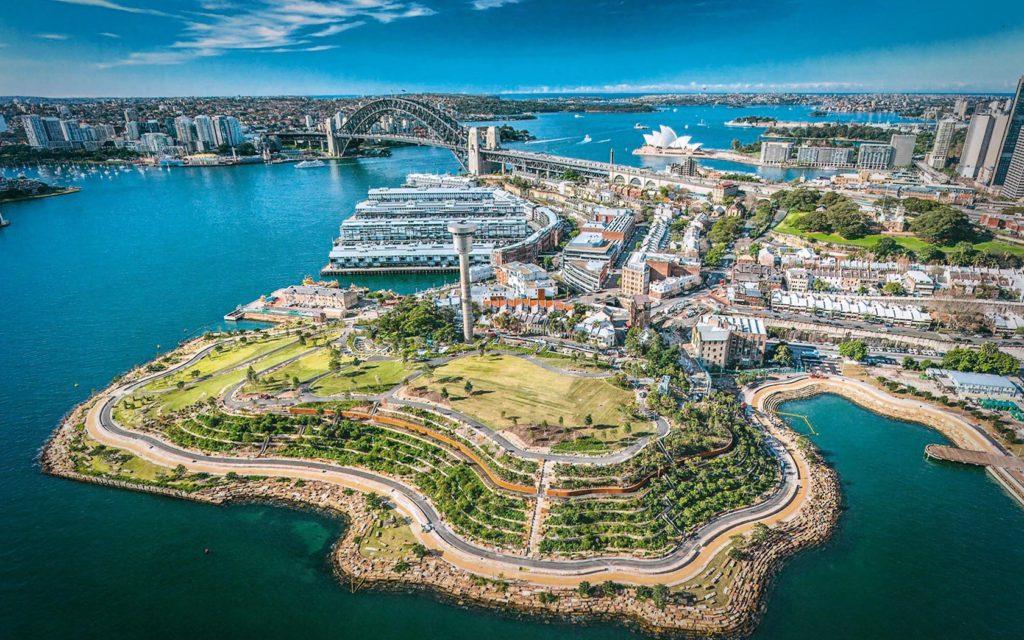 Barangaroo in Sydney Australia PWP