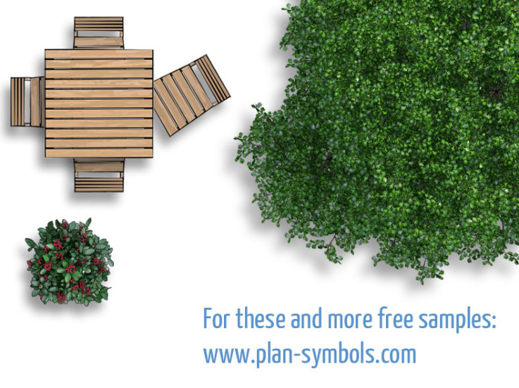tropicalplantsaddon samplelandscape landscapecollection landscapeplan - Garden Furniture Top View Psd